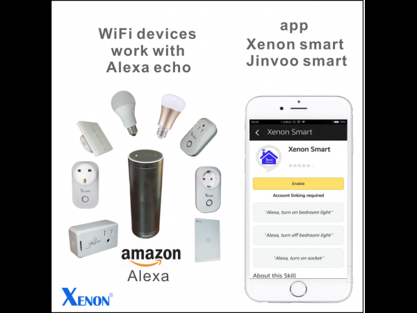 How to setup Amazon Alexa in Jinvoo Smart?