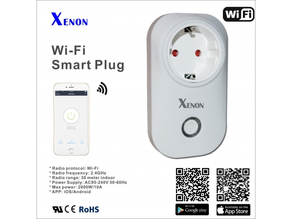 How to setup Xenon WiFi plug ?