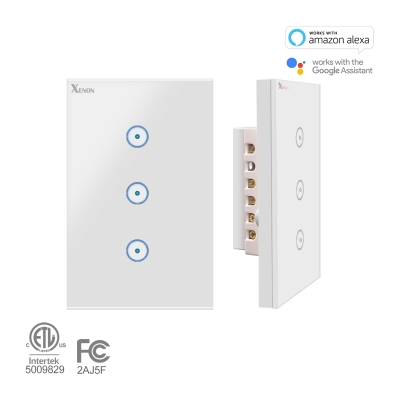 SM-SW102-3 Triple switch